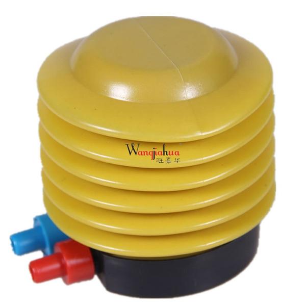 Bombas de yoga Inflador Bomba Neumático Portátil Deportes Ciclismo Baseketball Herramientas Accesorios Mini Pedal # 225721