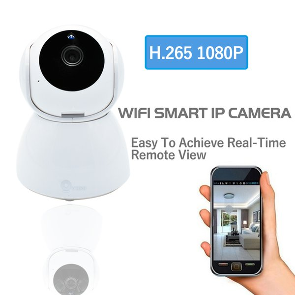 Smart New Home Wireless CCTV Security H.265 WiFi IP Camera HD 1080P Video Baby Mini Monitor P2P Indoor IR Nightvision Surveillance