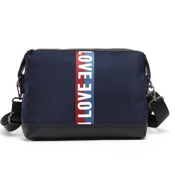 La nuova versione coreana di spalla degli uomini di moda sacchetto esterno sacchetto ipad diagonale piccola borsa degli uomini d'affari della moda