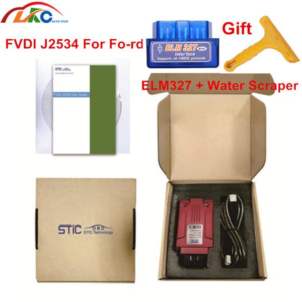 Strumento diagnostico FVDI J2534 per vcm per ID-ma-zda Fo-rd Forscan FVDI J2534 supporta il modulo online meglio di ELM327