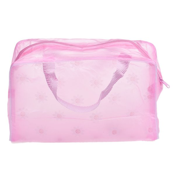 Transparent Waterproof Makeup Make Up Cosmetic Bag Travel Wash Toothbrush Pouch Toiletry Organizer Bag Tools Sac #LR1