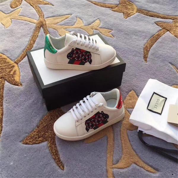 Nova Alta Qualidade Criança Sapatos de Couro Genuíno Meninos Casual Sports Student Único Sapatos Crianças Apartamentos Slip-On Mocassins Sapatos Da Criança