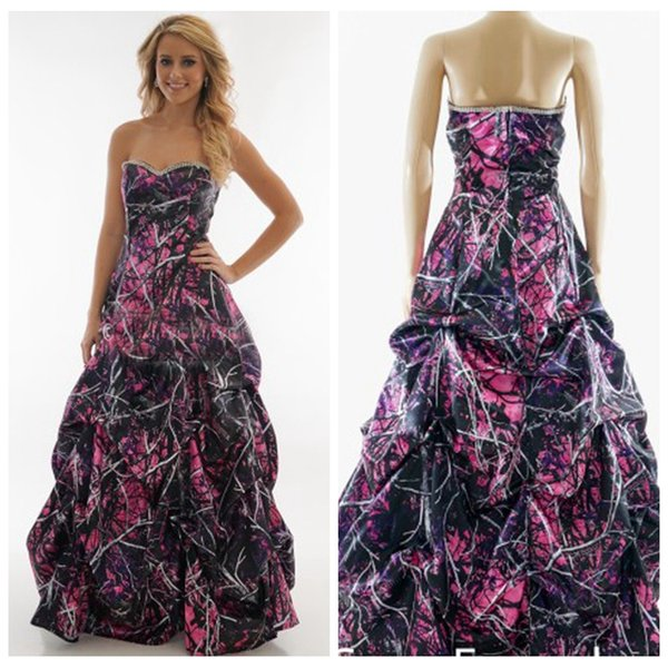 2019 sweetheart a-line camo muddy girl wedding dresses camouflage custom plus size bridal gowns real tree country side vestidos de marriage