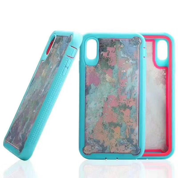 For Samsung Note 10 Pro A6 A70 A60 A50 A40 A30 A10 M10 A750 J3 J7 2018 Pretty Marble Texture Phone Case Cover
