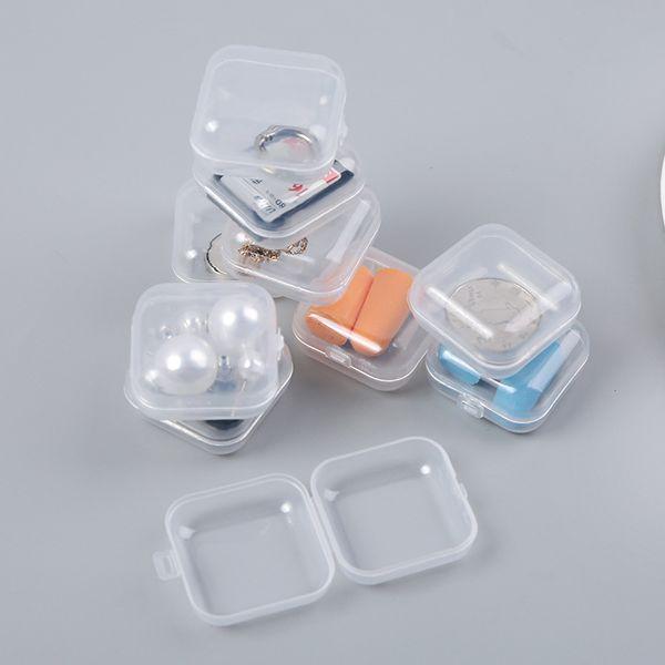 mini Adjustable Plastic storage box case jewelry Diamond painting Embroidery Craft Bead Pill Storage Tool home organizers 40pcs/set
