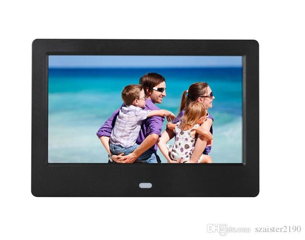 7 Inch Digital Photo Frame LED Backlight Electronic Album Picture Music Video Full Function Good Gift Baby Marry Wedding