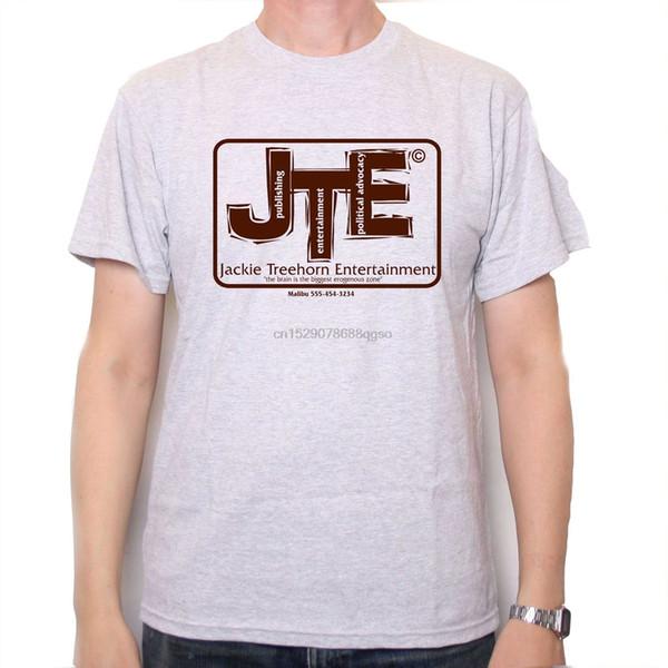 Ein Tribut an das große Lebowski-T-Shirt - Jackie Treehorn Entertainment Kultfilm Cool Casual Pride T-Shirt Herren Unisex Fashion