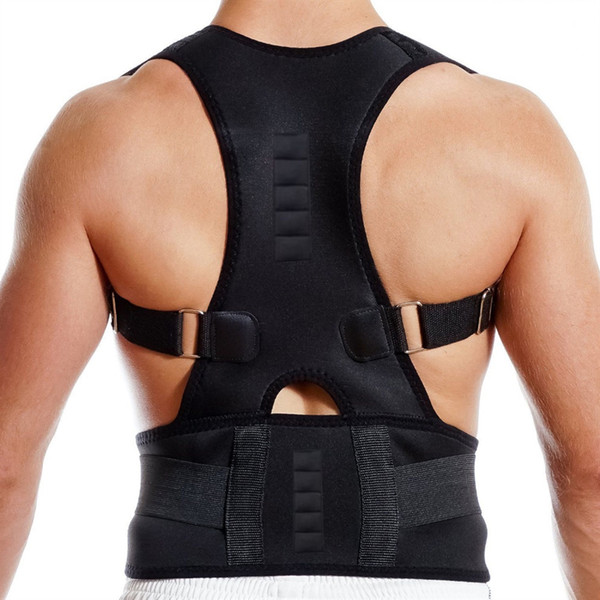Magnetic Therapy Posture Corrector Brace Shoulder Back Support Belt for Men Women Braces & Supports Belt Shoulder Posture #213286