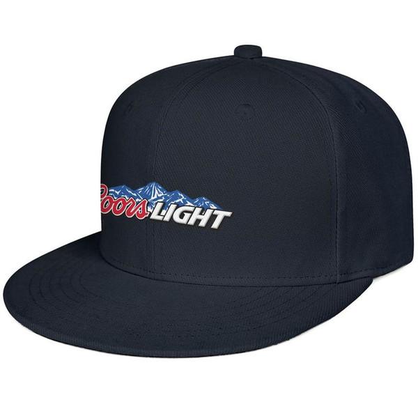 Womens Mens Washed Plain Adjustable coors light sign Rock Punk Cotton Snapback Cap Bucket Sun Hats Flat Top Hat Bucket Hat Airy Mesh Hats F
