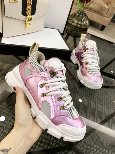 Moda para la venta FashionSneaker Triple S Casual Top Dad Para Hombres Mujeres Beige Negro Deportes Tenis Zapatillas de correr xyh19021604