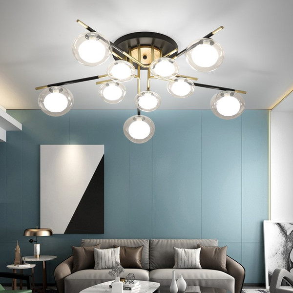 2019 Trazos Nordic Led Ceiling Lights For Dining Room Wooden Hanging Lamp With Metal Lampshade Modern Triple Ceiling Lamps From W245887966 133 52