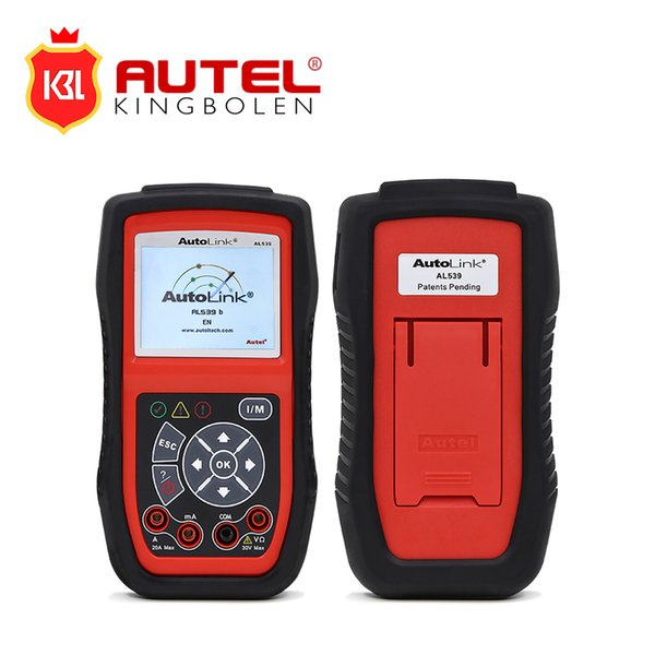 Free Shipping Original Autel AutoLink AL539B OBDII Code Reader & Electrical Test Tool