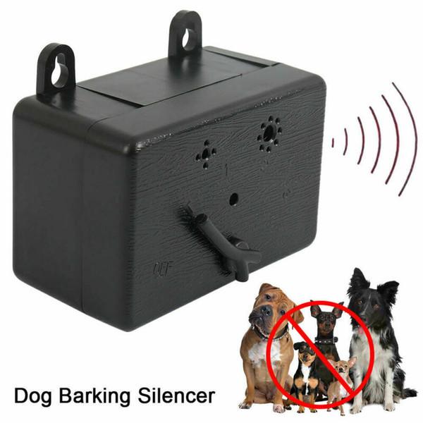 Extérieur ultrasons Dispositif anti-Barking Dog Bark Control Outils Sonic Silencer Dog ultrasons cesser d'aboyer Entraîneur