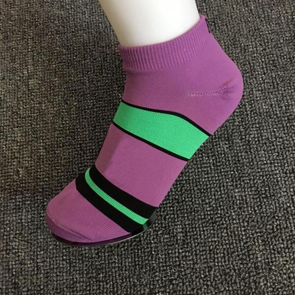 best selling Good Quality New Style Adult Socks Boys & Girl's Short Sock Cheerleader Sports Running Socks Teenager Ankle Socks Candy Colorful