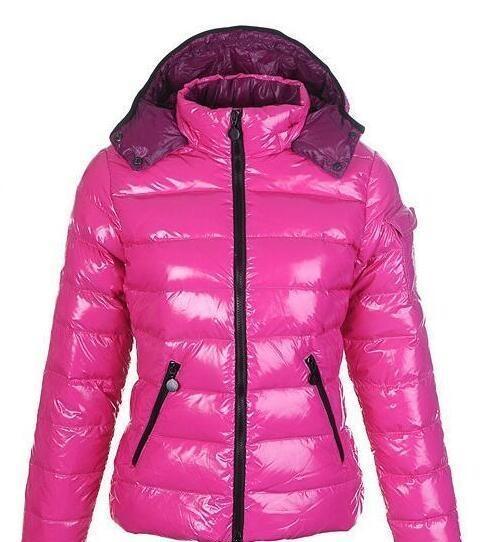 ГОРЯЧАЯ зимы женщин вскользь вниз куртка вниз пальто женщин Открытое Теплого перо платье Зимнее пальто верхней одежда куртка розовой