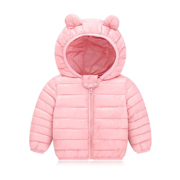 Autumn Winter Warm Jackets For Girls Coats For Boys Jackets Baby Girls Jackets Kids Hooded Outerwear Coat Children Clothes