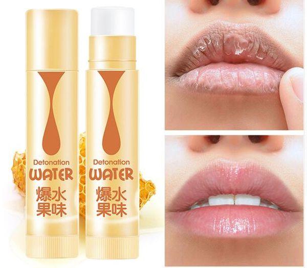 Sace Lady barra de labios Fruta Natural Bálsamo Dulce Hidratante Reparación Arrugas de Labios Protección Anti Envejecimiento Bálsamo de Labios Cuidado de Piel