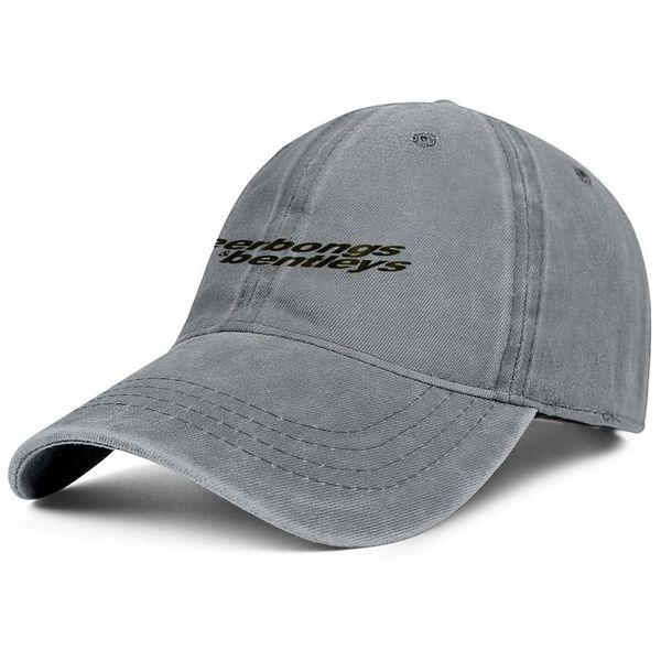 Men womens vintage Denim hat washing Adjustable b&B POST MALONE LOGO designer ball caps cute Dad hat Outdoor