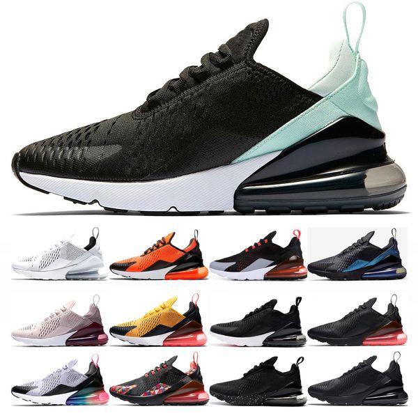 nike air max 270 shoes Herren Damen CNY Total Orange Laufschuhe 2019 Herren Triple Black University Gold Core Weiß BARELY Rose Navy Be true habanero red sneakers
