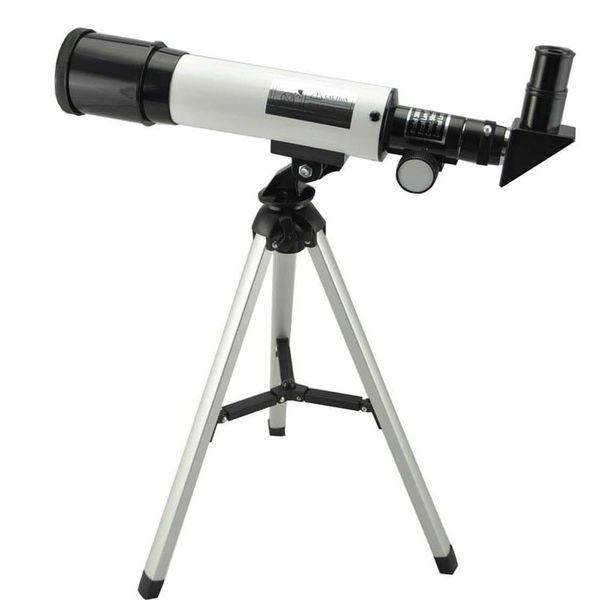 Telescopio astronomico rifrattore 360X50 con treppiede portatile cielo telescopico telescopio spazio osservazione regalo
