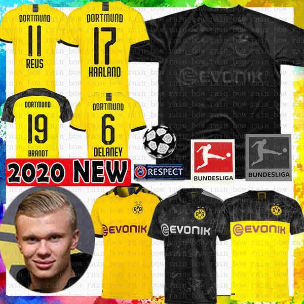 Reus M Gotze Sancho Soccer Jersey 17 Haaland 110 Black Bvb Borussia Dortmund Football Shirt Hummels Diallo Brandt Schulz Maillots De Foot Black Yellow Buy At The Price Of 14 90 In Dhgate Com