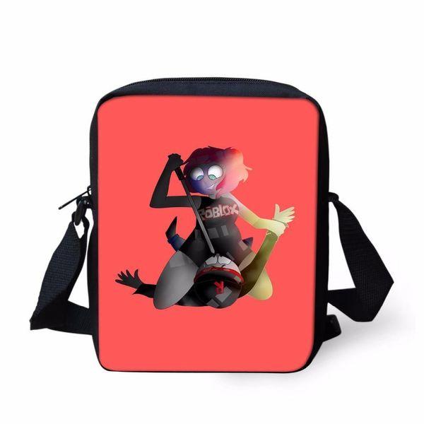 Messenger Bags For Kids Roblox Game School Supplies Shoulder Bag Children Mini Kindergarten Crossbody Girls Cool Bags