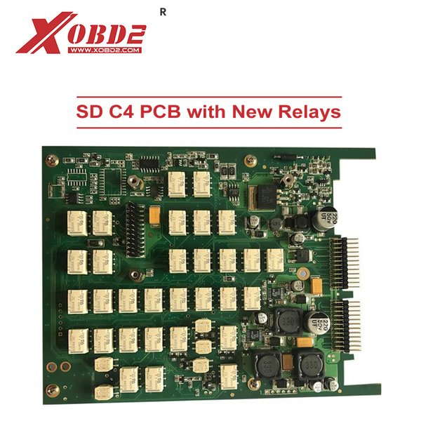 SD C4 Mainboard PCB with New Relays Star C4 Main Board Work for MB SD C4 and C5 Car and Truck Diagnostic Tool