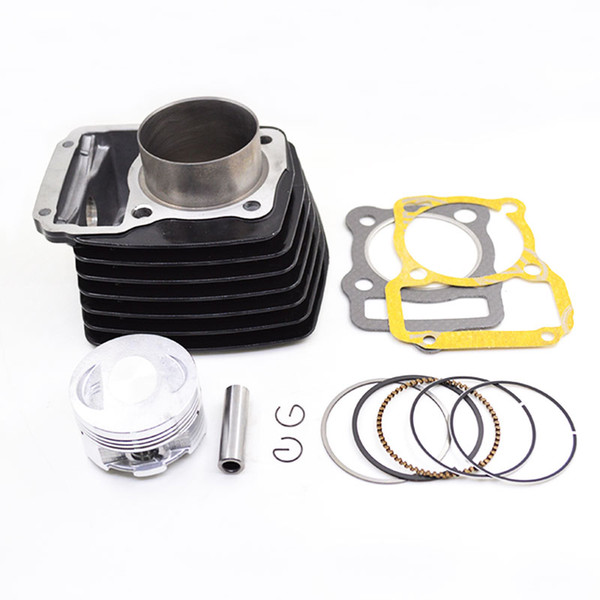 best selling Black Motorcycle Cylinder Kit STD 56.5mm Big Bore 62mm for KEEWAY SUPERLIGHT 125 125cc 150cc