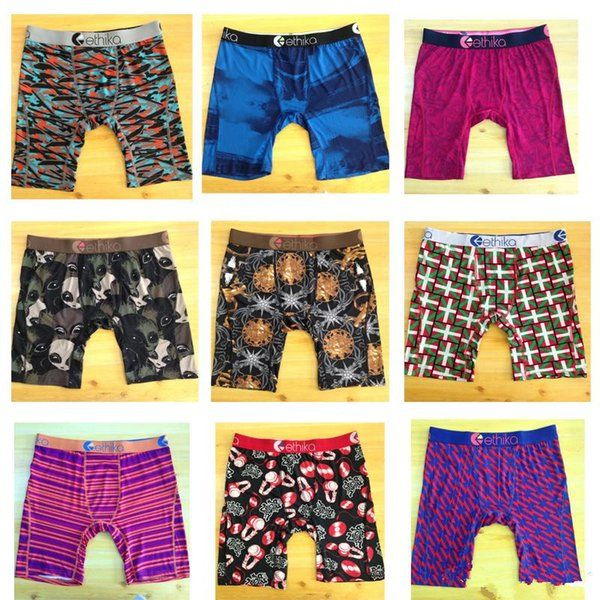 best selling Classical Ethika Designers Luxurys cotton Ethika Underwears Mens boxers underpants Male sexy Tight waist Underpants Man Underwear Briefs