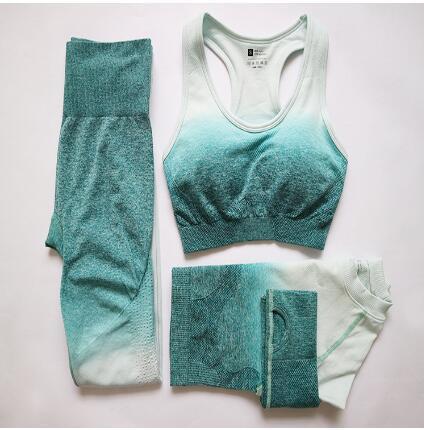 Women Comfortable Slim Elastic Leggings High Waist Super Stretch Workout Trousers Spring Women Leggings 3 pieces