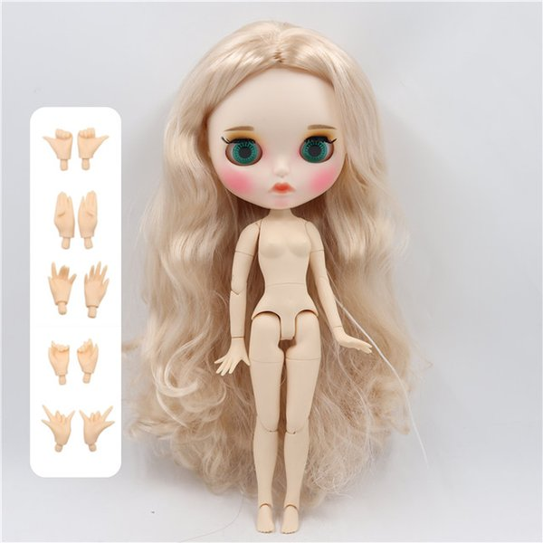 Color:doll with hands A&Size:30cm nude d