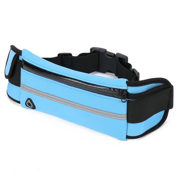 Portable Waterproof Outdoor Sports Waist Bag Jogging Sport Purse Phone Pocket For Running Workouts Cycling Travelling Money Belt #198877