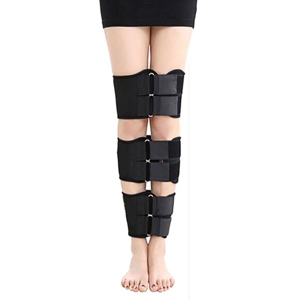 3 teile / satz haltung Verfügbar O / X beinart gekrümmten Beinen Knie Begradigungskorrektur Gürtel Band körperhaltung Korrektor