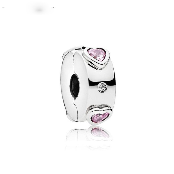 New Free Shipping Silver Plated Bead Alloy Explosion of Love Clip Charm Fit Original Pandora Bracelet DIY Women Jewelry