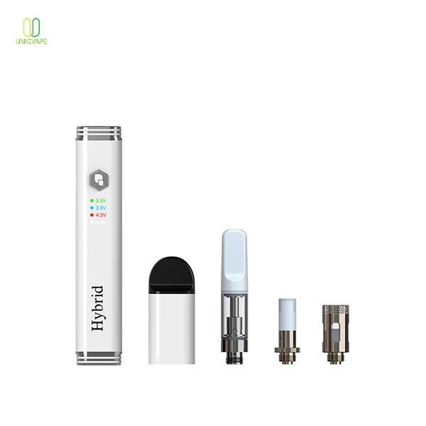 Il nuovo disegno Dip Dab vaporizzatore Con 4.8V High Voltage Vape Pen Kit personalizzato Packaging 510 Discussione Cera vaporizzatore