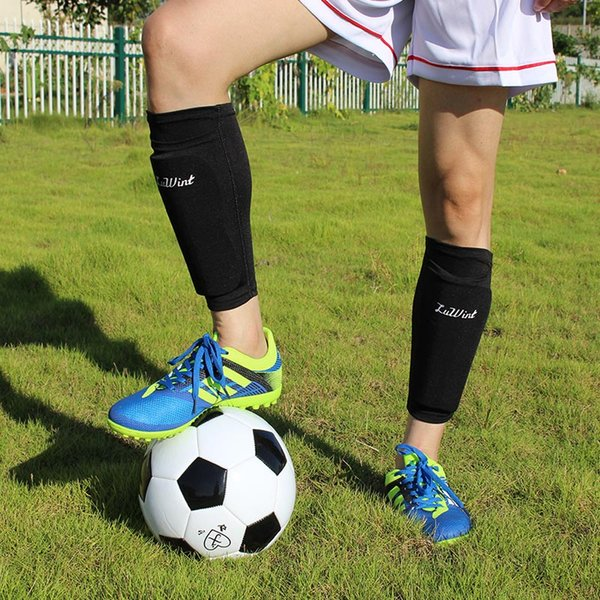 1 Pair Adult&Kids Soccer Protective Socks With Pocket Supporting Shin Guard Support Socks For Football Shin Pads Leg Sleeves