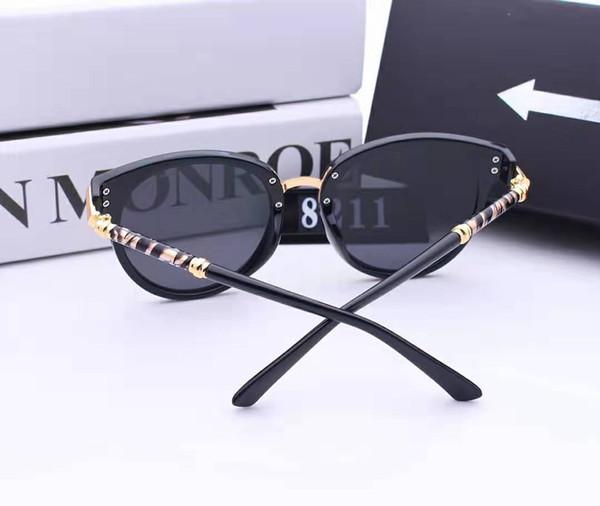 New Fashion Sonnenbrillen Brand Designer Sonnenbrillen Herren Damen Sonnenbrillen 3379 Glass Lens Sonnenbrillen Unisex-Brillen kommen mit Box Glitter2019