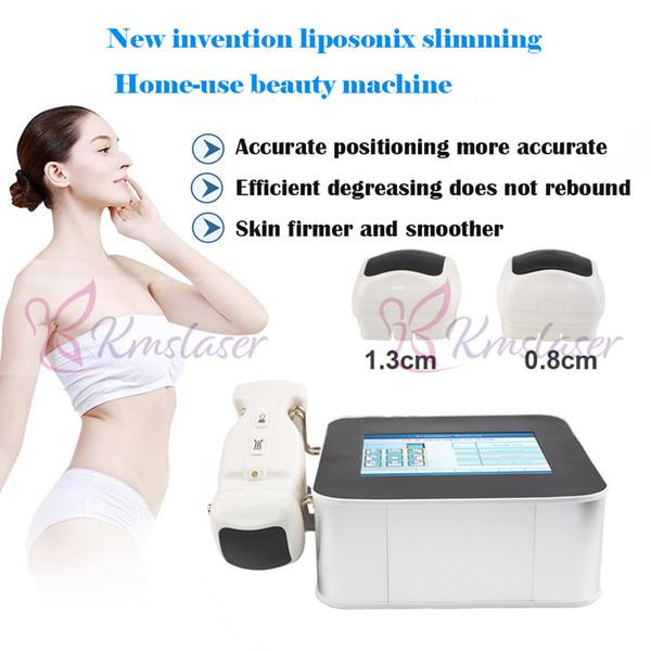 Poder forte Portátil liposonix 2 cartuchos 8mm 13mm corpo emagrecimento gordura remoção gordura dissolver a máquina