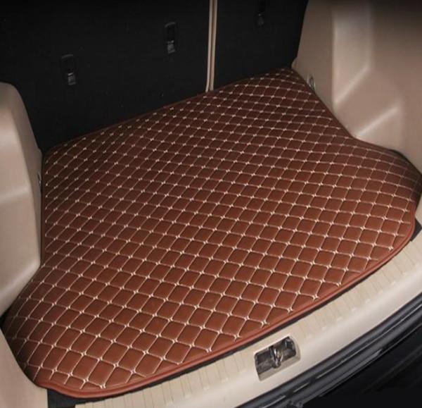 Применимо к 2018year MG HS автомобиль не скользит багажный коврик багажника водонепроницаемый кожаный ковер коврик автомобиля плоский коврик