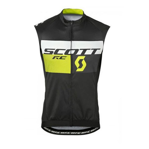 New Scott Cycling Jersey Mtb Bicycle Clothes Ropa Ciclismo summer racing Bike shirts Riding Wear Men sleeveless vest SportsWear Y052805