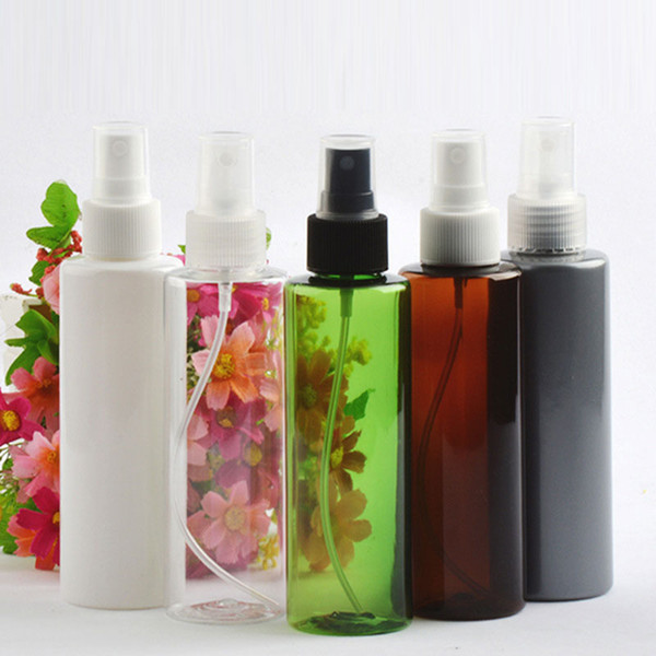 Empty Mist Spray Plastic Bottle For Toilet Water Perfume Toner Cleaning Sprayer Pump Container For Cosmetics Packing 150ml x 40