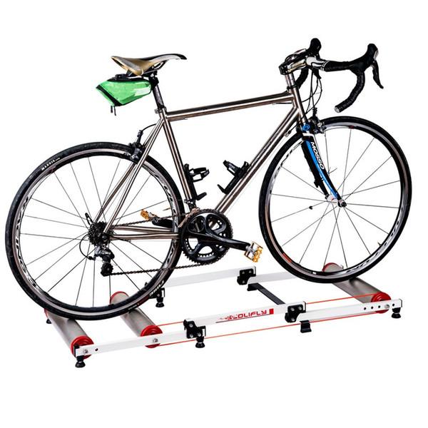 Bicycle Three-fold Mountain Bike Training Roller Platform 16-29 inch Aluminum Alloy Indoor Outdoor Train Warm-up Riding Platform #48125