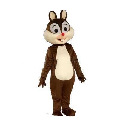 2019 High quality hot Squirrel mascot costume squirrel mascotter cartoon fancy dress costume Halloween Fancy Dress Christmas for Party Event