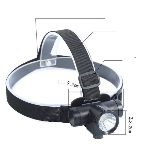 Charging Type Headlamp Long Shot Miners Lamp Outdoors Led Dexterous Waterproof Fishing Adjustable Band Flexible Portable 12jmf1