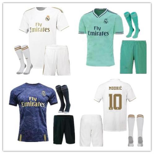 Top 19 Maglia felpa 2019 camicia atleta Divisa 2020 Real Madrid PERICOLO MODRIC 20 Real Madrid di calcio