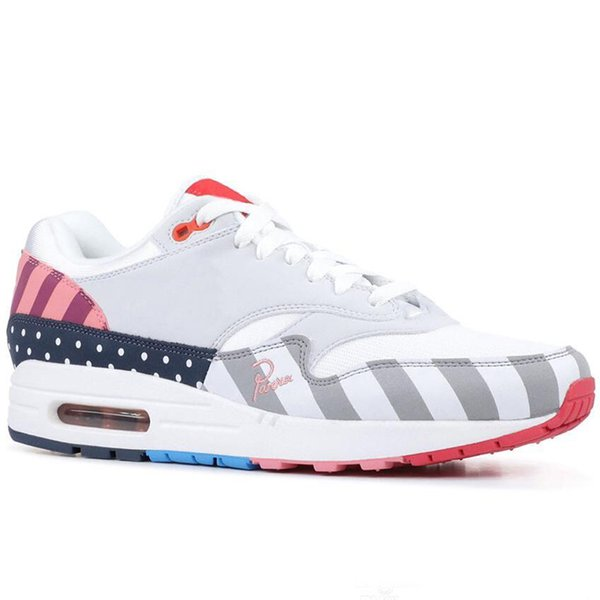 2019 Piet Parra 1 Friends And Family Classic Running Shoes Fashion Colorful Casual Sport Skateboaridng Trainers Designer Sneakers 36-45