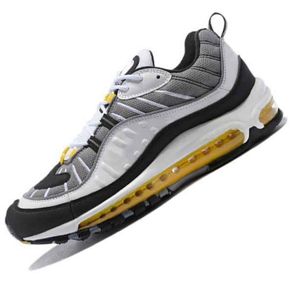 2019 KPU Designer Shoes Zapatos para correr 3M Sliver Black Mujeres Hombres Zapatillas de deporte casuales al aire libre Sportskk