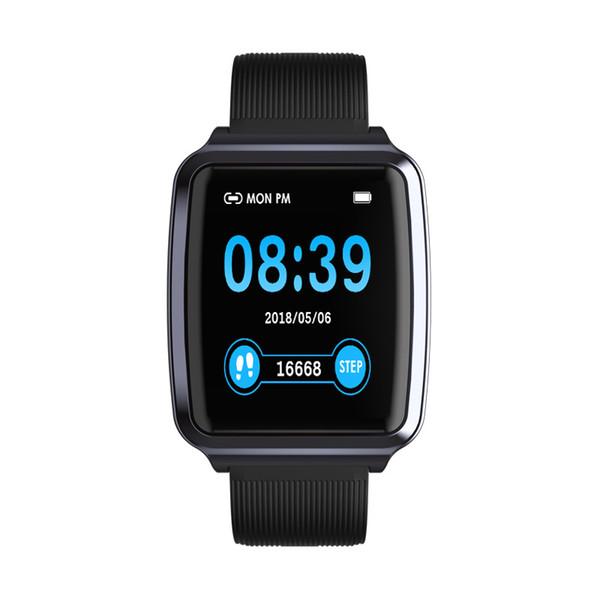 Sport 1.3 Pollici Smart Watch Uomo Donna Bluetooth Intelligente Pedometro Fitness Bracciale Orologi digitali Frequenza cardiaca Monito