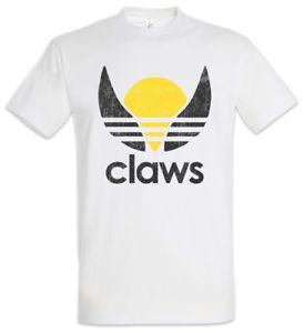 T-shirt W Claws Nouveau X Fun Série télé Hommes Élixir Icarus Prodigy Surge Wolverine