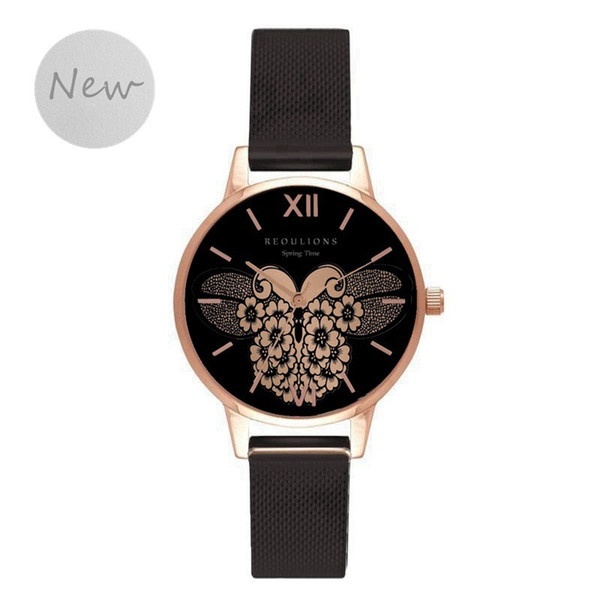 New Arrival Nation Wind Vintage Korean Designer Casual Eternity Watches Jewelry Vintage Party Fine Womens Watch For Woman